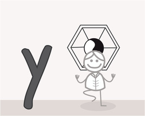 Y for Yoga