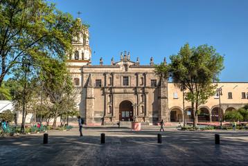 Mexico City, San Juan Bautista Parish in Coyoacan, Mexico