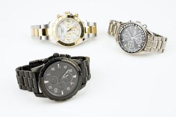 クロノグラフの腕時計