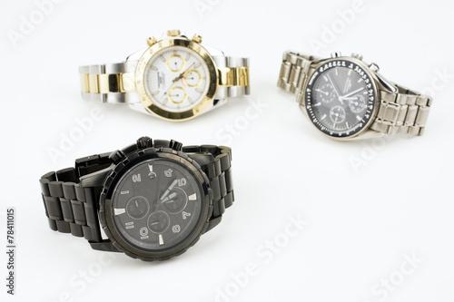 Leinwandbild Motiv クロノグラフの腕時計