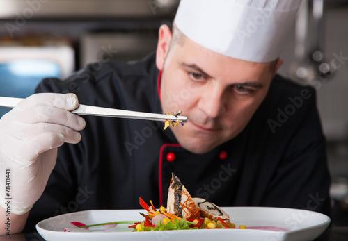 preparing food - 78411441