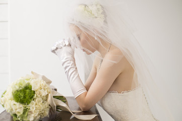 Bride you are praying to God