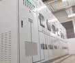Electrical switchgear -- Industrial electrical switch panel - 78412687