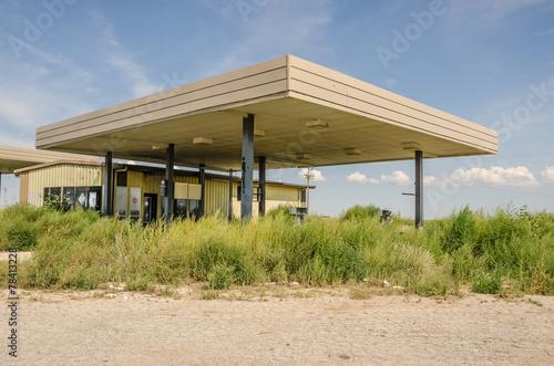 Overgrown Gas Pumps
