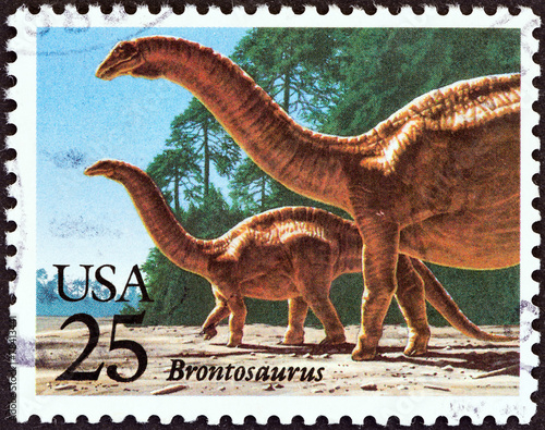 Poster Brontosaurus (USA 1989)