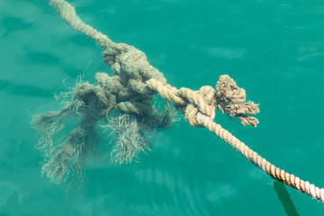 Rope in the river