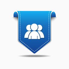 User blue Vector Icon Design