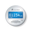 Smart meter illustration - 78418005