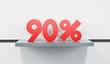 sale at 90 percent