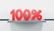 sale at 100 percent