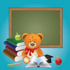 School Teddy Bear