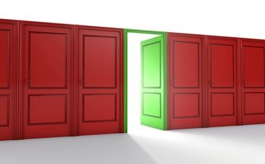 Karriere, Chance, Türen, Möglichkeiten