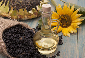 Sunflower oil.