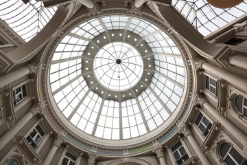 Dome of the passage in The Hague