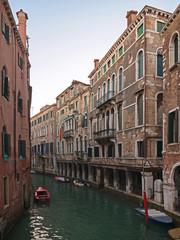 Wasserstrasse in Venedig