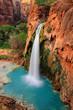 Leinwanddruck Bild - Waterfall in Grand Canyon, Arizona, US