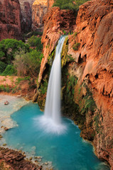 Waterfall in Grand Canyon, Arizona, US