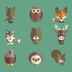 Waldtiere Fuchs