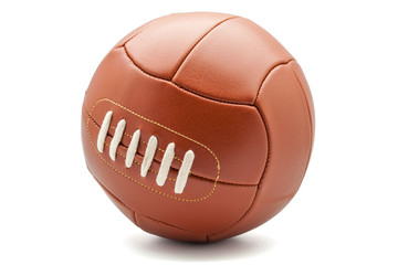 pelota de cuero