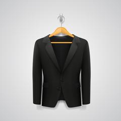 Jacket on a hanger