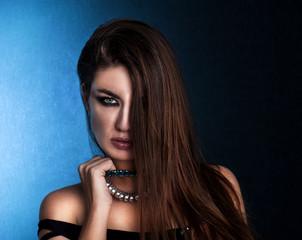 Young sensual woman