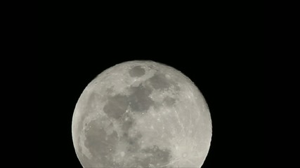 Full Moon on a clear night shot from high altitude