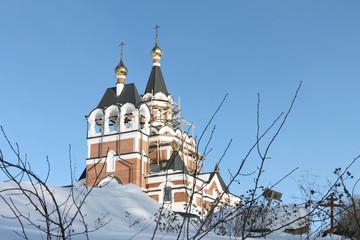 Construction of orthodox church