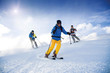 Drei Skifahrer - 78426491