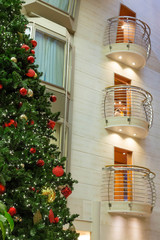 Christmas Tree by Chrome Balconies
