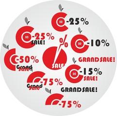 скидки проценты