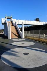 タコ街道と歩道橋