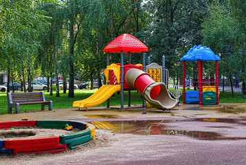 empty Playground in the park