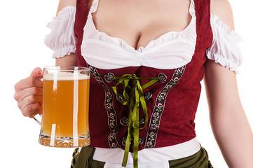 traditional dress woman Oktoberfest