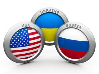 Сonfrontation USA UA RU