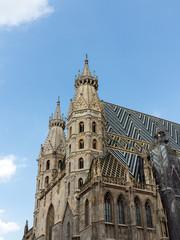 Stephansdom von Wien, Blick von Südwesten