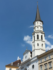 Turm der Michaelerkirche, Michaelerplatz Wien