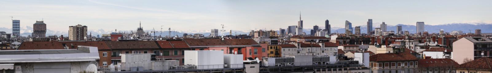 Panoramica su Milano expo 2015