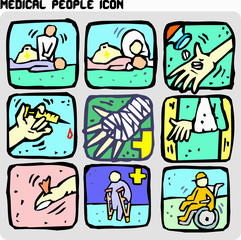 medical people icon2