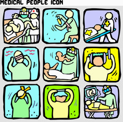 medical people icon