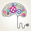 Creative brain concept - 78433409