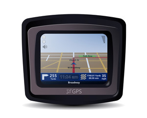 Realistic Illustration of a GPS