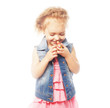 canvas print picture - little girl
