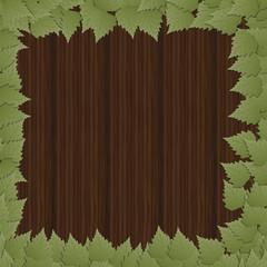 Cornice di foglie