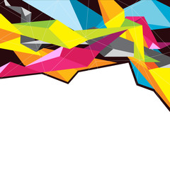 colorful geometry background