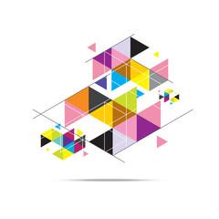 triangle pattern background design