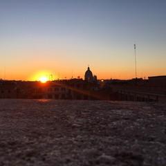 Rome, sunset