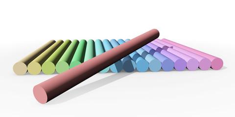 Pastel krijt - compleet spectrum
