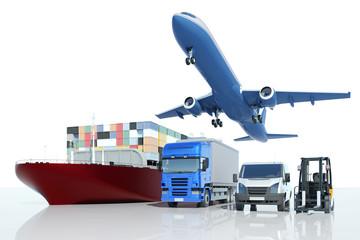 Transport und Logistik bei Spedition