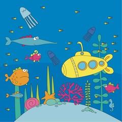 sea life pattern