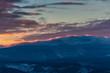 winterlicher Sonnenuntergang am Brocken